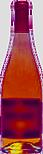 Bottiglia tipica di alcuni vini rossi e rosati talvolta vivaci